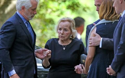 """Ethel Kennedy said """"the world is a little less beautiful today"""" in a tribute to her granddaughter - Credit: David L Ryan/The Boston Globe"""
