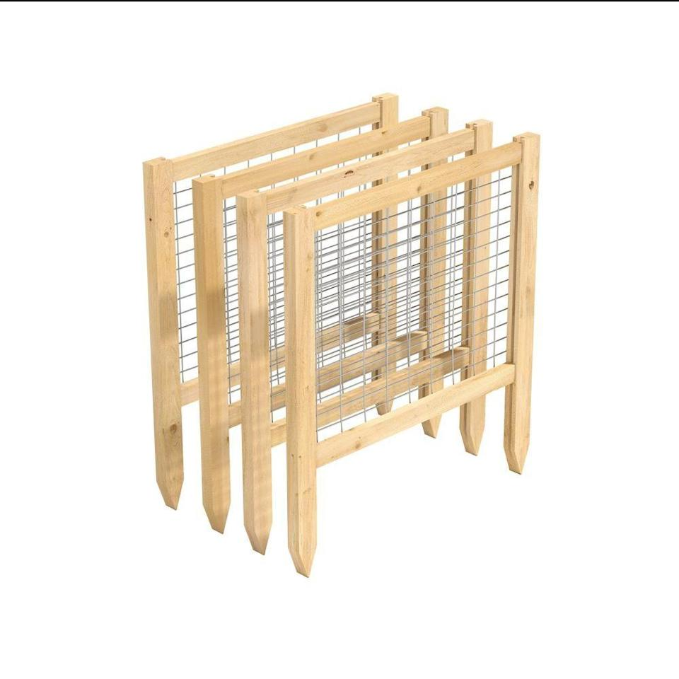 """<p><strong>Greenes Fence</strong></p><p>homedepot.com</p><p><strong>$68.57</strong></p><p><a href=""""https://go.redirectingat.com?id=74968X1596630&url=https%3A%2F%2Fwww.homedepot.com%2Fp%2FGreenes-Fence-CritterGuard-2-ft-L-23-5-in-Cedar-Garden-Fence-4-Pack-RC24CG4PK%2F206686180&sref=https%3A%2F%2Fwww.housebeautiful.com%2Flifestyle%2Fg36036673%2Fgrow-a-spring-garden%2F"""" rel=""""nofollow noopener"""" target=""""_blank"""" data-ylk=""""slk:Shop Now"""" class=""""link rapid-noclick-resp"""">Shop Now</a></p><p>What's worse than watering your plans and finding out that they've been chewed up? Protect your hard work from squirrels, rabbits and other small animals by setting up a barrier in your yard or garden. The fence is available in various sizes and just needs to be pushed into the ground. </p>"""