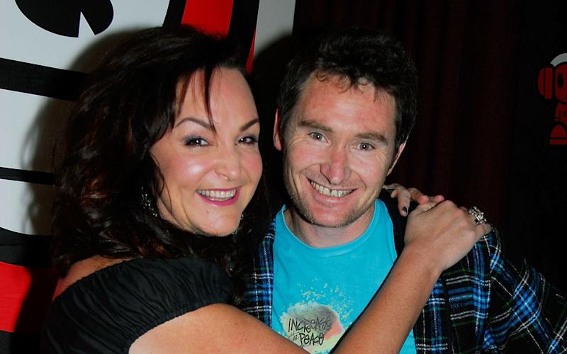 Stand Up Comedian/Broadcaster Dave Hughes and co-host Kate Langbroek - Getty Images AsiaPac