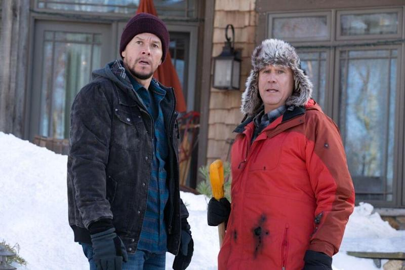 Mark Wahlberg and Will Ferrell in film Daddy's Home 2. Source: Supplied