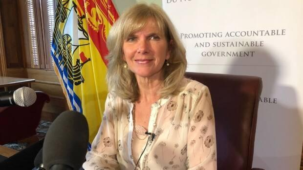 Kim Adair-MacPherson is leaving her post as New Brunswick's auditor general. She will take on the same role in Nova Scotia on May 3. (Catherine Harrop/CBC News file photo - image credit)