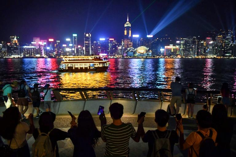 """The """"Hong Kong Way"""" was called by the social media-driven protesters who have turned for the last several days to non-violent means of making their voice heard (AFP Photo/Lillian SUWANRUMPHA)"""