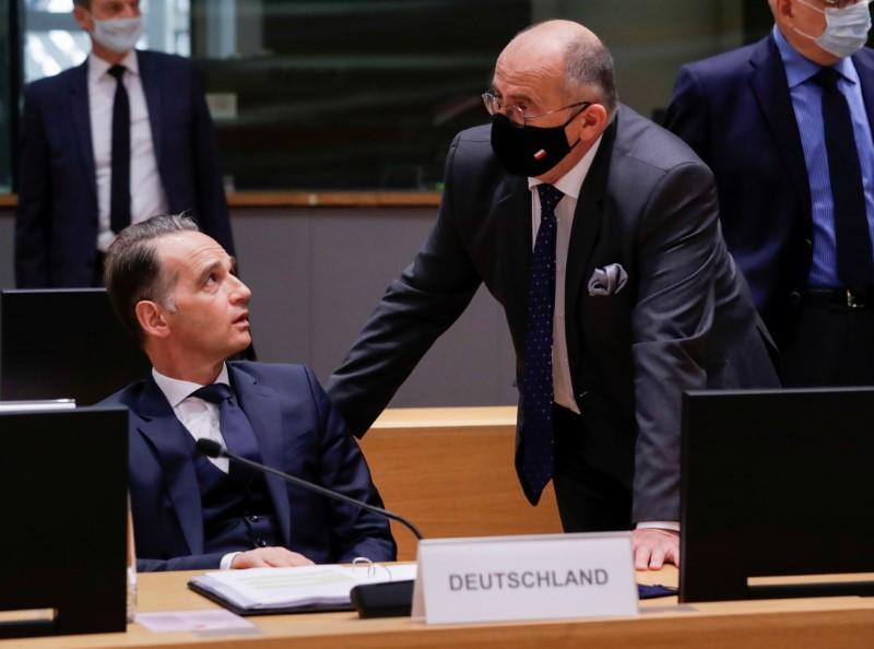 FILE PHOTO: Foreign affairs ministers council in Brussels