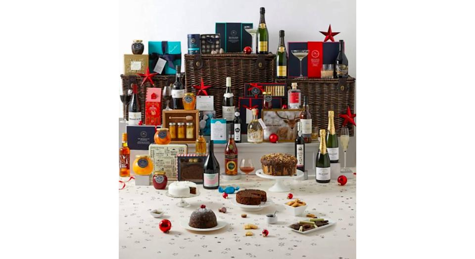 Collection Berkeley Luxury Christmas Hamper. (M&S)