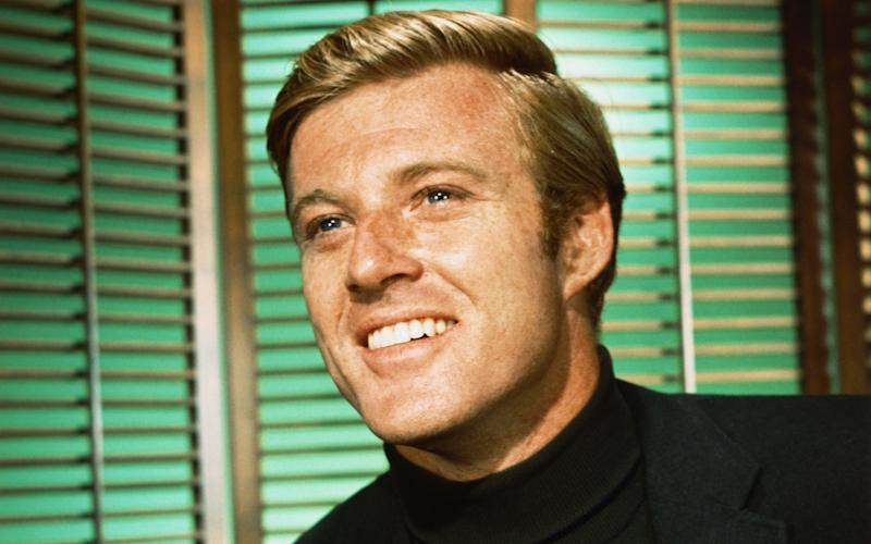 Robert Redford knows how to rock a roll neck