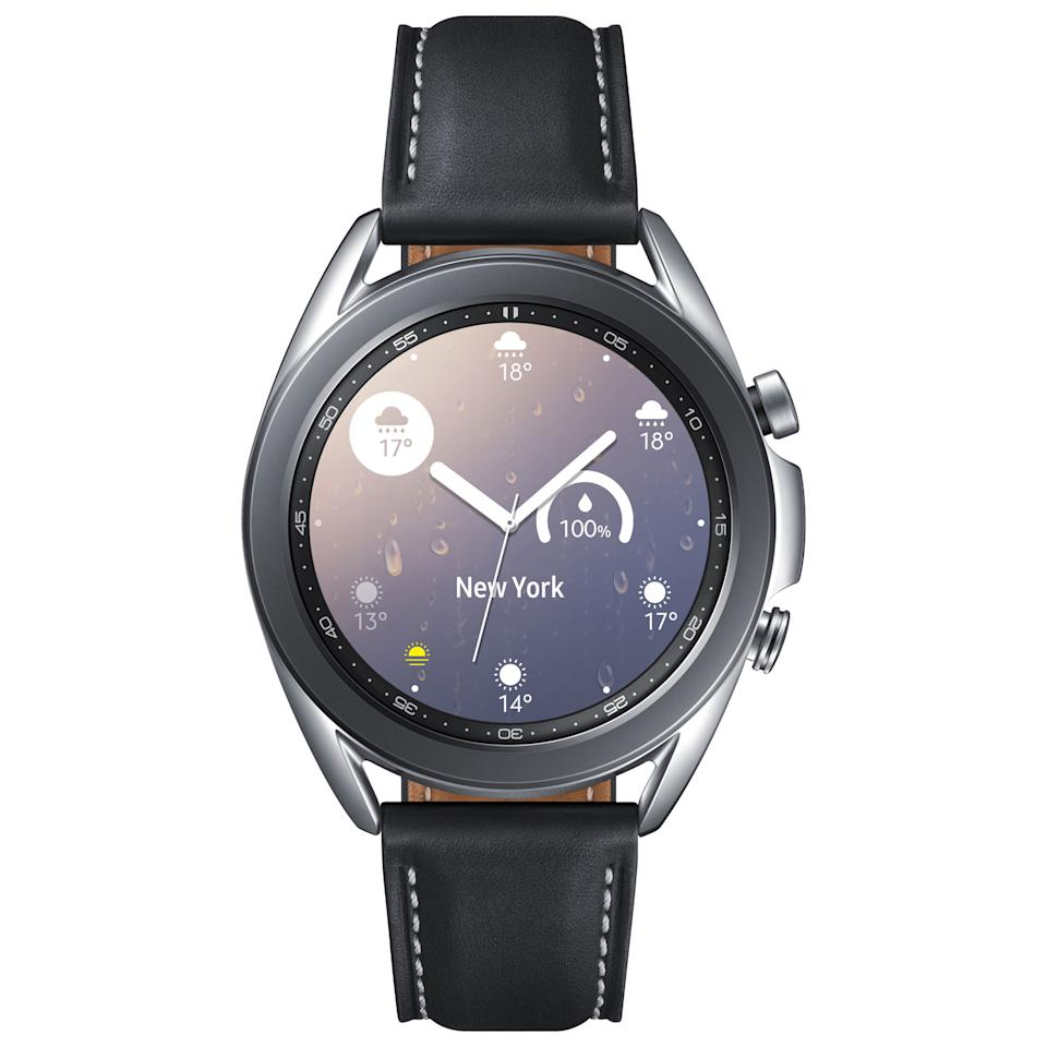 Samsung Galaxy Watch3 41mm Smartwatch with Heart Rate Monitor. Image via Best Buy.