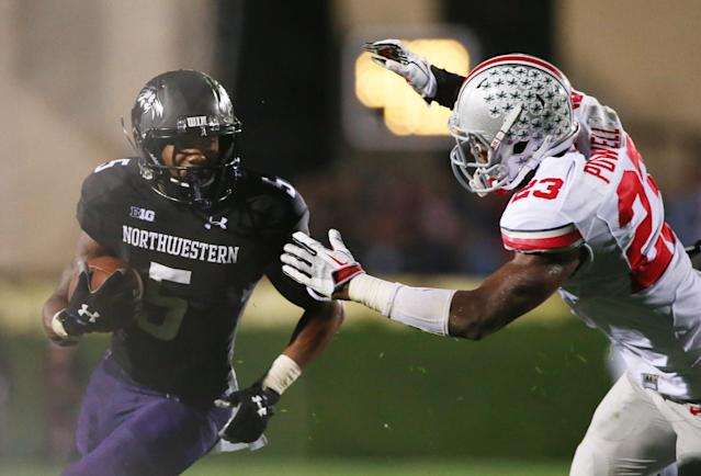 Northwestern RB Venric Mark refers to union efforts as Kain Colter's movement