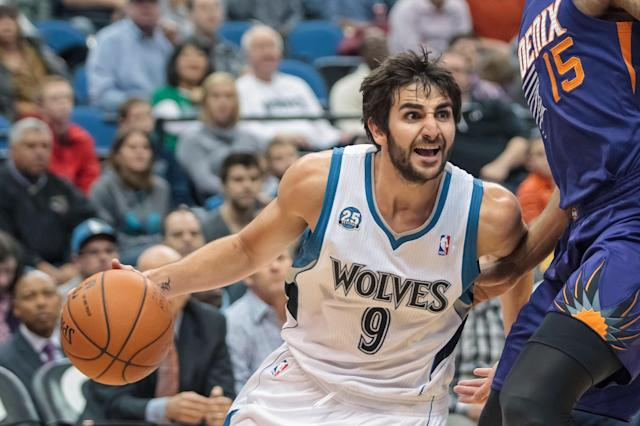 The 10-man rotation, starring Ricky Rubio's chance to hit the reset button in Minnesota
