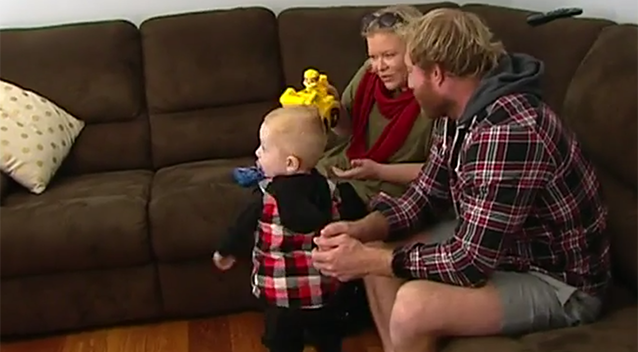 The Jurd family say they cannot imagine their lives without their son. Source: 7 News