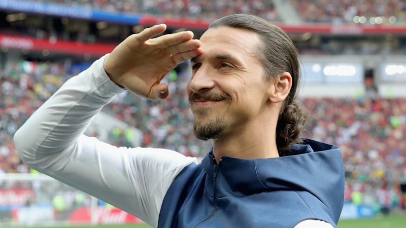Ibrahimovic 'ready to play' after signing for Milan