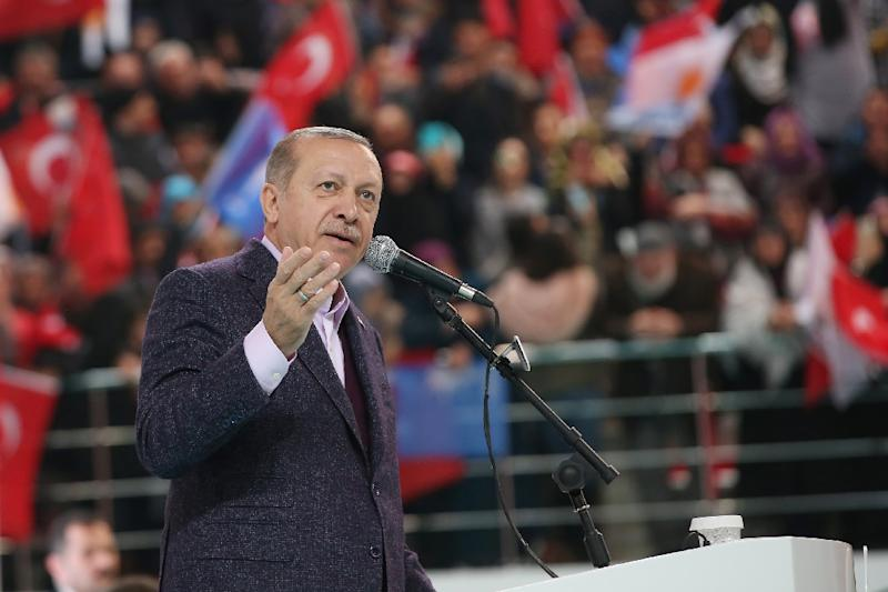 Turkish President Recep Tayyip Erdogan has harshly criticized Israel and the United States over the US stance on Jerusalem