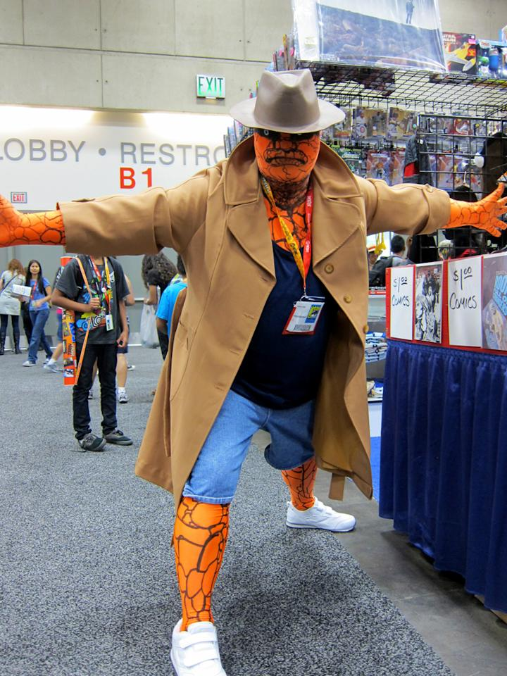 The Thing goes undercover - San Diego Comic-Con 2012