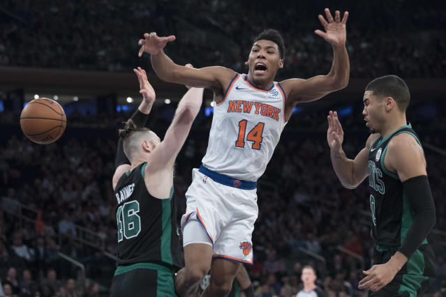 Allonzo Trier has been quietly having an excellent season. (AP Photo/Mary Altaffer)
