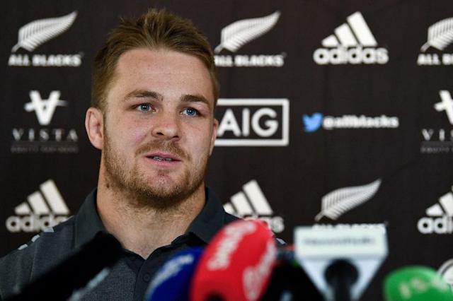 Remarkable comeback: New Zealand flanker Sam Cane broke his neck in October last year but will be on the bench for the Waikato Chiefs on Saturday (AFP Photo/FRANCK FIFE)