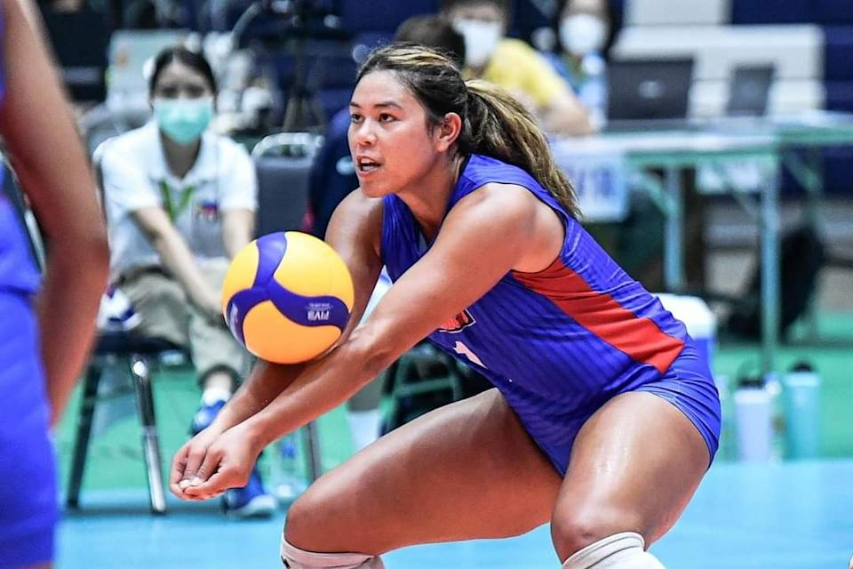Kalei Mau of Choco Mucho Philippines. (Photo: AVC - Asian Volleyball Confederation/Facebook)