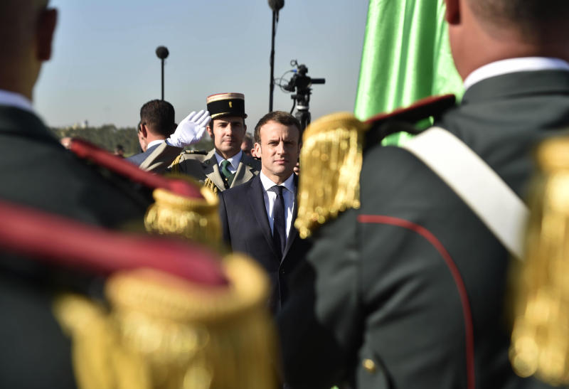 Macron seeks 'new relationship' with former colony Algeria