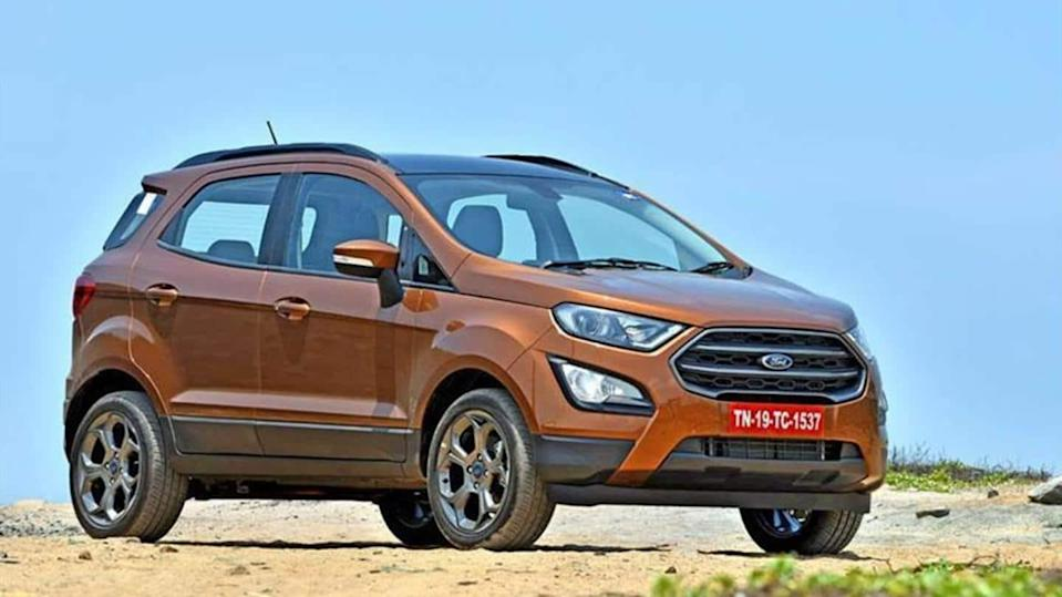 Ford EcoSport tops list of highest exported vehicles from India