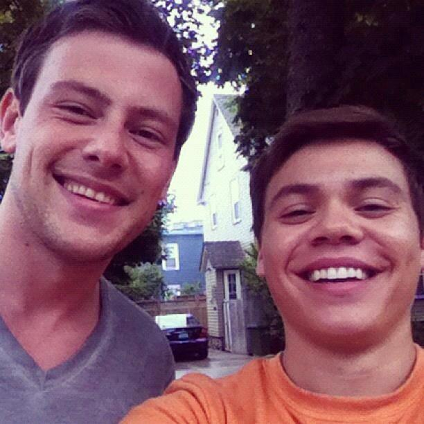 Working with @CoryMonteith was surreal, his effect on the world is very evident. RIP my friend, you are a Hero.
