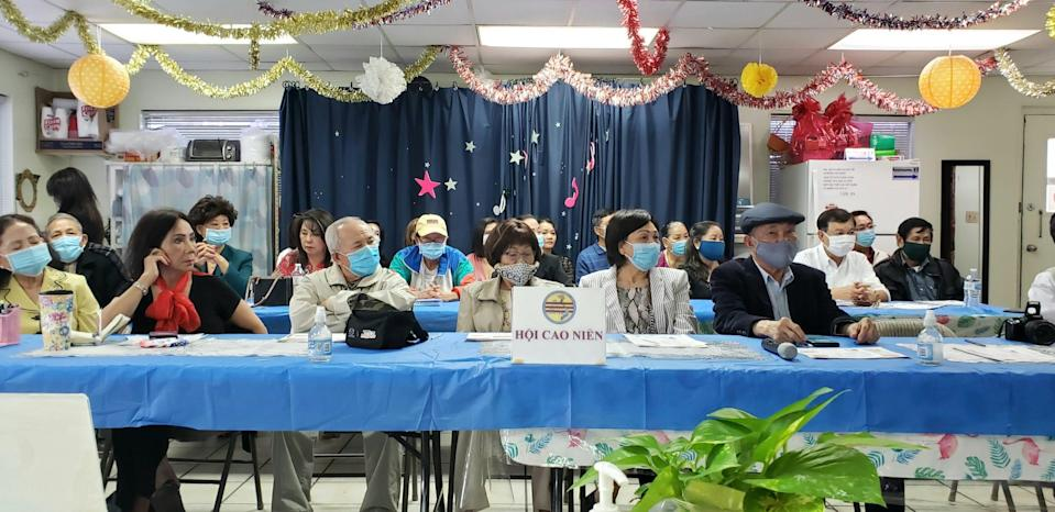 Open Eyes Beyond Border on March 28 held a Q&A session about the COVID-19 vaccine for seniors in Austin's Vietnamese community.