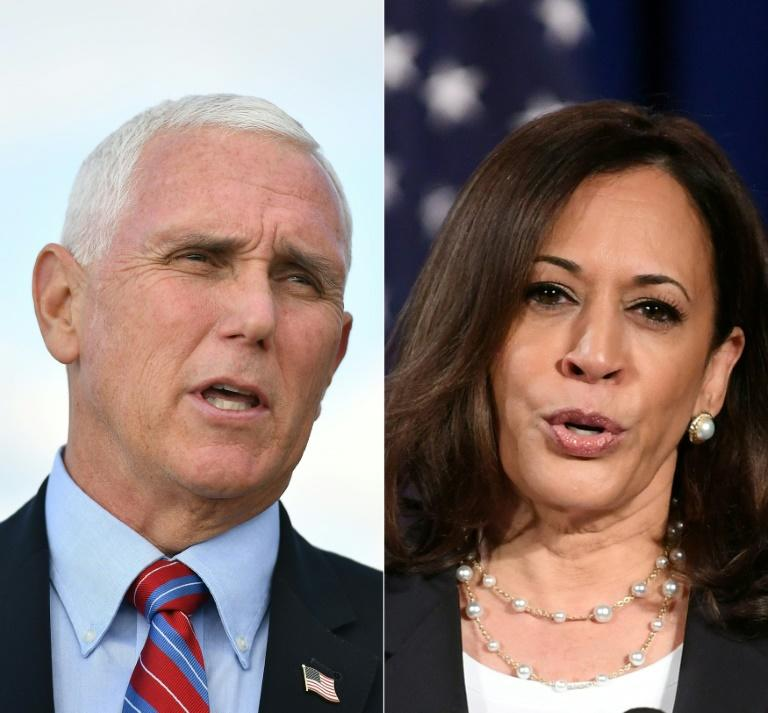 As US reels, Pence and Harris square off in critical VP debate