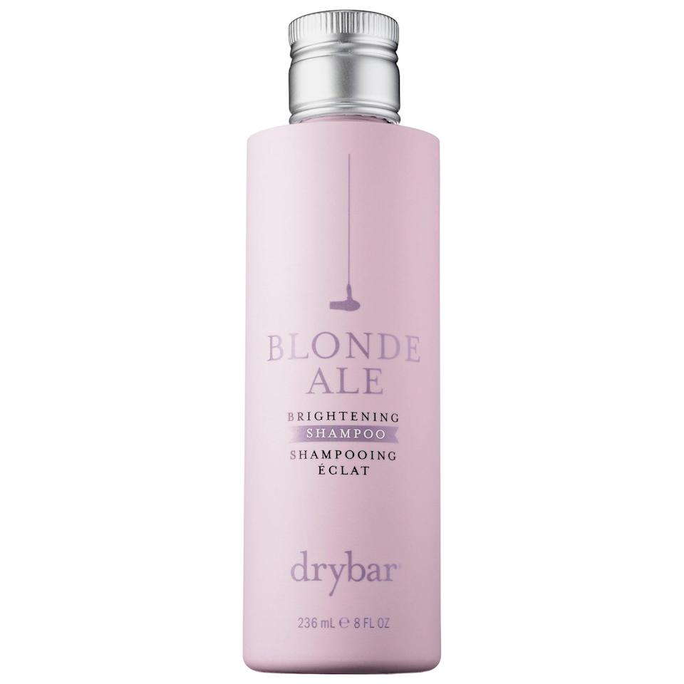 <p>Try this <span>Drybar Blonde Ale Brightening Shampoo</span> ($28). The lemon extract helps keep your hair as bright as ever, and the chamomile extract provides that kick of added moisture.</p>