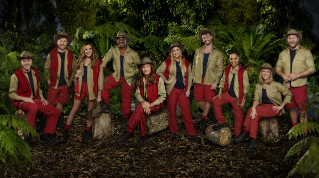 The stars of I'm A Celebrity... Get Me Out Of Here! 2019 have entered the jungle (Credit: ITV)