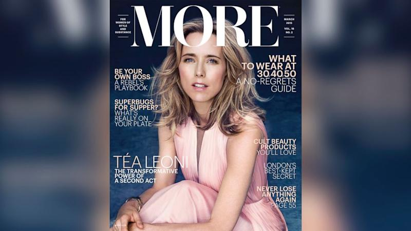 Tea Leoni on Being 'Divorced and Liking It, Thank You'