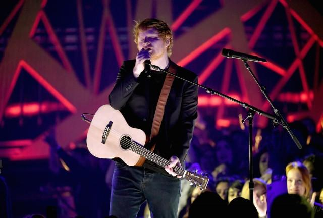 "iHeartRadio Music Awards 2017: Watch Ed Sheeran Perform ""Shape of You"" and ""Castle on the Hill"""