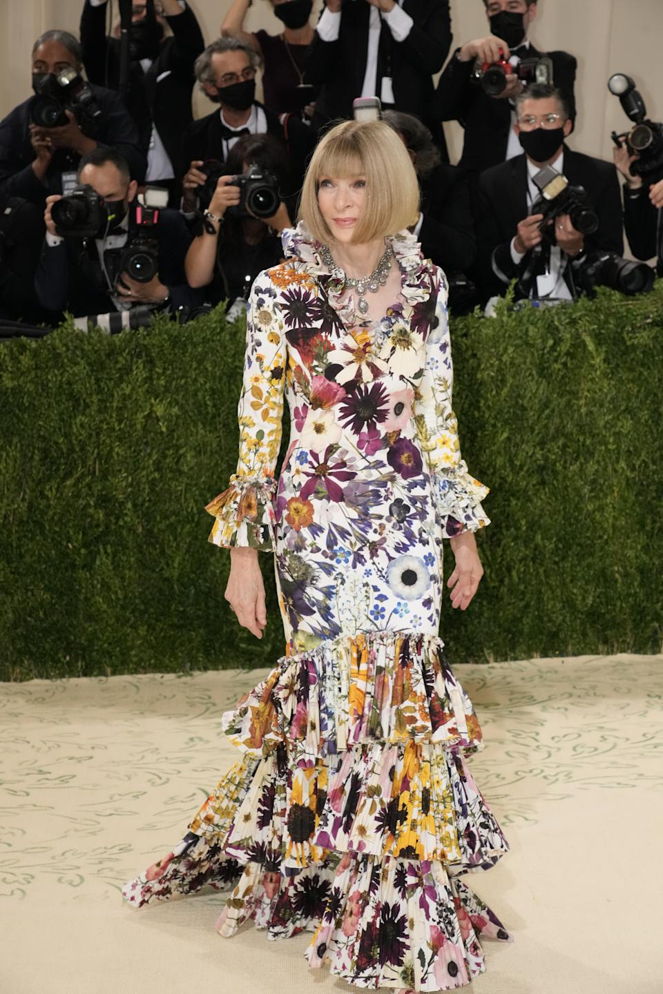 Anna Wintour at the 2021 Met Gala