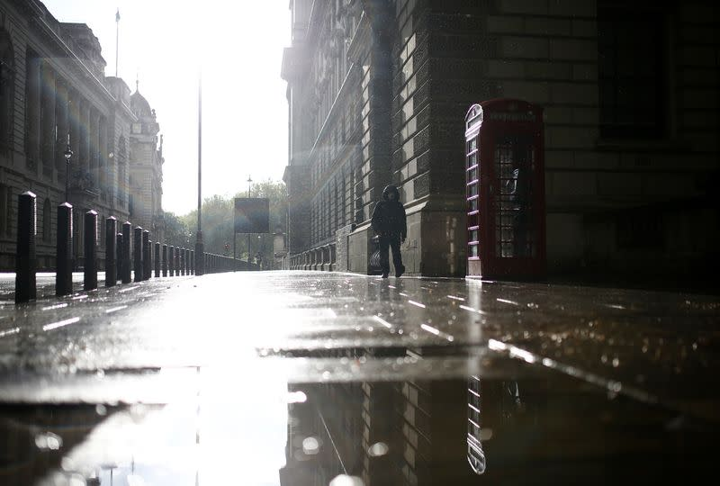 Britain says around a quarter of workers furloughed