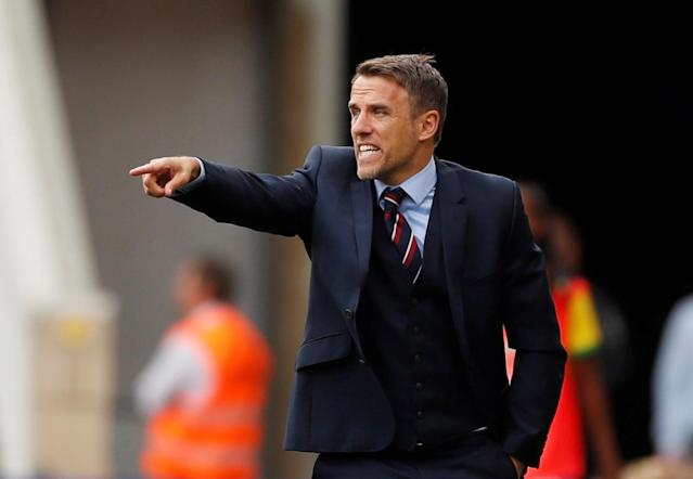 England manager Phil Neville believes his side's performance merited a result at the Riverside Action Images via Reuters/Lee Smith