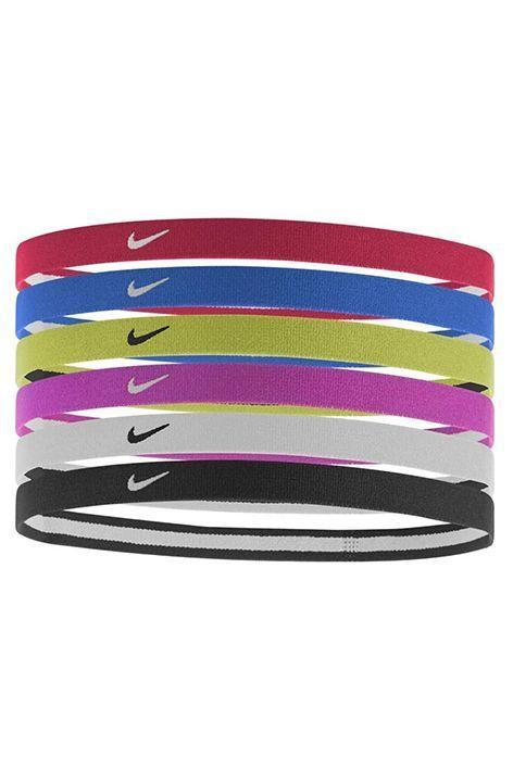 """<p><strong>Nike</strong></p><p>amazon.com</p><p><strong>$15.99</strong></p><p><a href=""""https://www.amazon.com/dp/B00OY9KCG0?tag=syn-yahoo-20&ascsubtag=%5Bartid%7C10072.g.33414958%5Bsrc%7Cyahoo-us"""" rel=""""nofollow noopener"""" target=""""_blank"""" data-ylk=""""slk:Shop Now"""" class=""""link rapid-noclick-resp"""">Shop Now</a></p><p>Great for men or women, these thin and sporty Nike headbands are perfect for keeping short hair pulled back while working up a sweat or running errands on the weekends. </p>"""