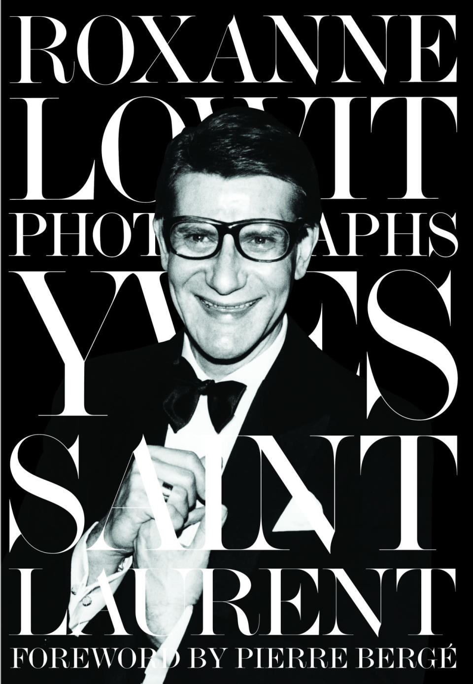 The cover of Yves Saint Laurent, available November 18th