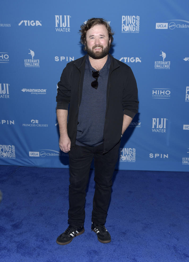 Actor Haley Joel Osment attends the 7th annual Ping Pong 4 Purpose celebrity tournament fundraiser at Dodger Stadium on August 08, 2019 in Los Angeles, California.