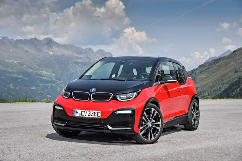 The BMW i3 costs just over £31,000 (BMW i-automobiles)