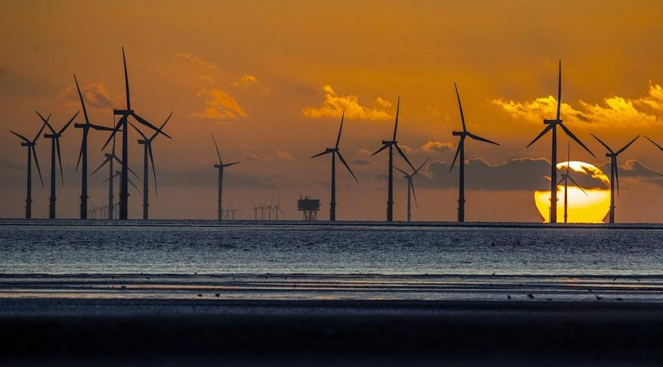 SSE is a major builder of offshore wind farms (Peter Byrne/PA) (PA Wire)
