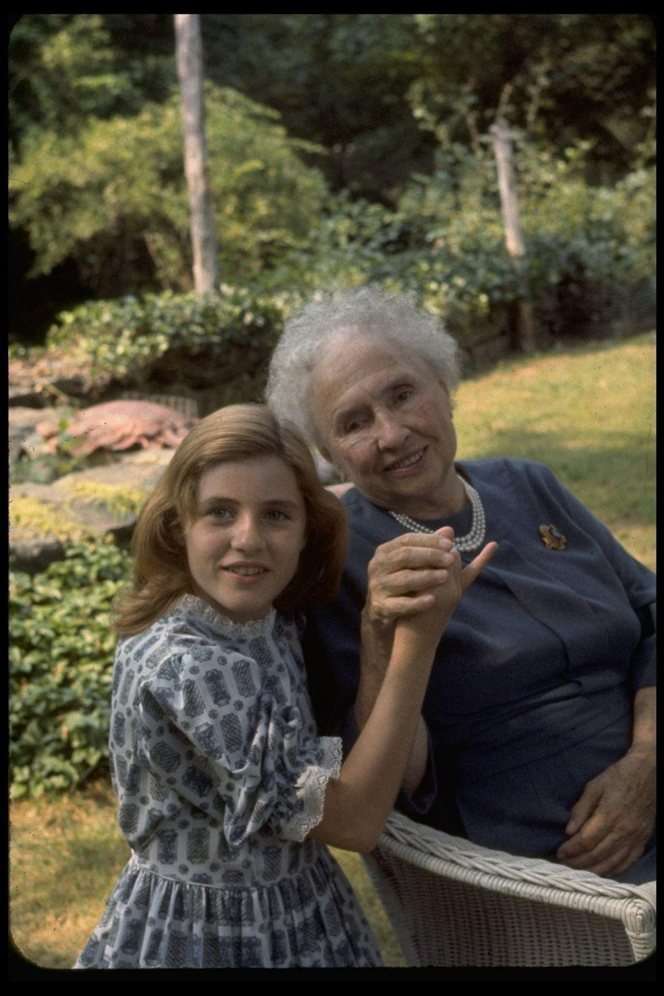 <p>Patty Duke played Helen Keller in the 1962 film <em>The Miracle Worker.</em></p>