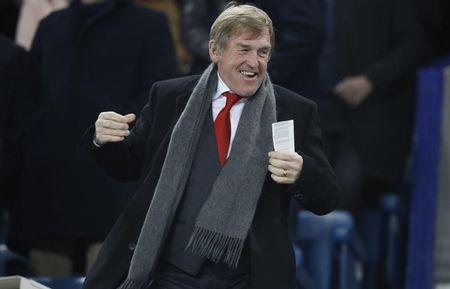 Former Liverpool manager Kenny Dalglish before the match