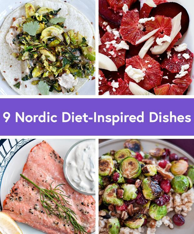 Nordic Diet-Inspired Dishes