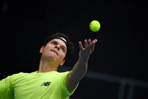 Canada's Milos Raonic is renowned for his powerful serve