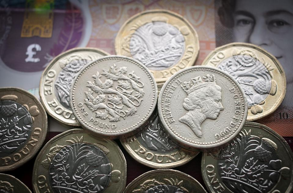 There are some places you can still spend your old pound. Getty Images