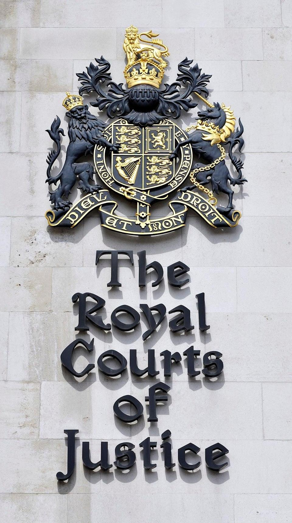 The Royal Courts of Justice, Strand, central London, where Thursday's High Court hearing was staged. PA/Nick Ansell (PA Archive)