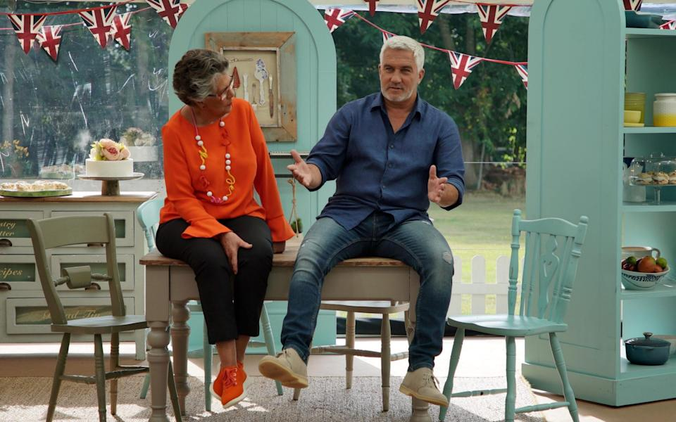 Prue Leith and Paul Hollywood - Channel 4