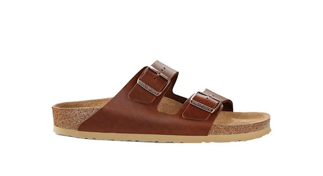 Birkenstock Arizona Double Strap Leather Sandals