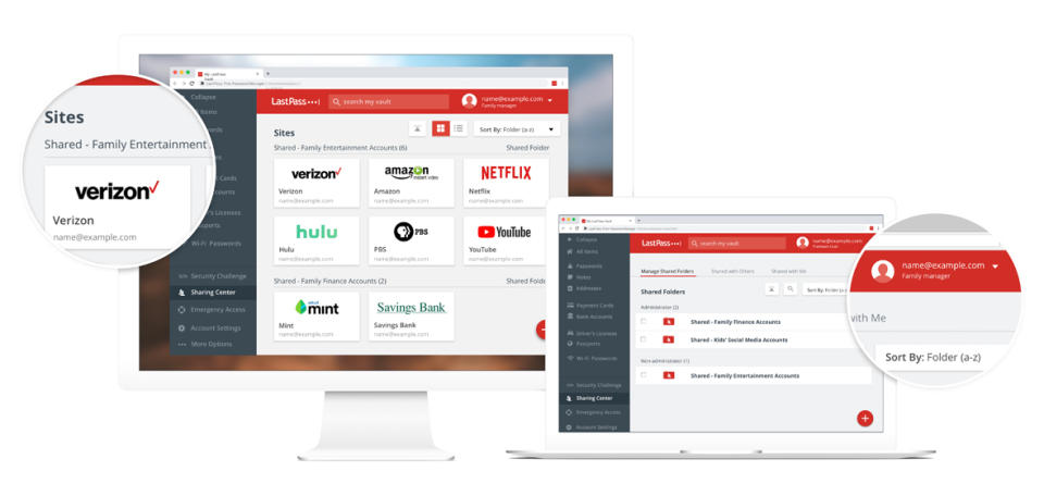 Stop tryingto remember all your passwords and let LastPass Families do the work for you. ({hoto: LastPass Families)