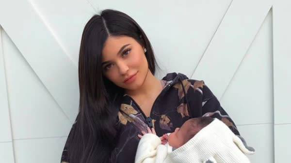New Mom Kylie Jenner Explains Why She Loves Changing Diapers