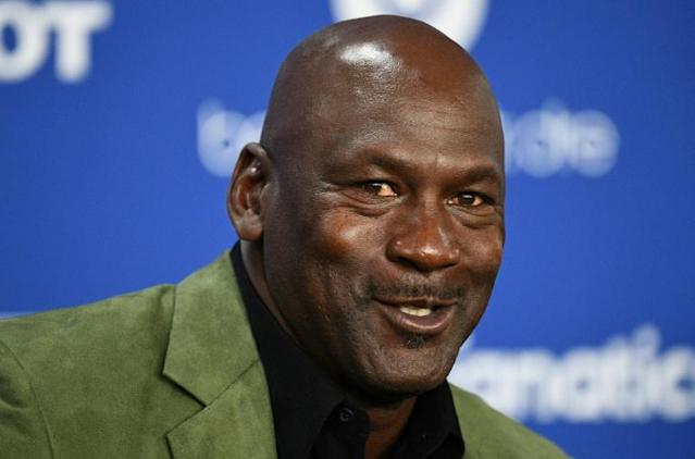 Retired NBA legend Michael Jordan and his dynasty years with the Chicago Bulls will be the subject of a 10-part documentary series that was to have debuted in June but will now launch in April (AFP Photo/Anne-Christine POUJOULAT)
