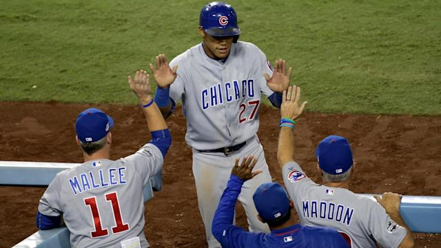 Another win saw the Chicago Cubs move a step closer to clinching the NL Central outright. (AP)