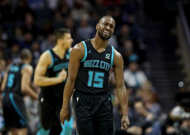 "<a class=""link rapid-noclick-resp"" href=""/nba/players/4890/"" data-ylk=""slk:Kemba Walker"">Kemba Walker</a> has had some monster games this season, but Week 16 could prove difficult. (Photo by Streeter Lecka/Getty Images)"