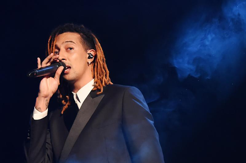 Ghali (Photo by Stefania D'Alessandro/Getty Images)